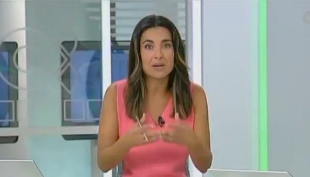 La periodista Fátima