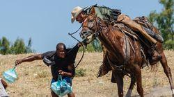 Shocking Video Shows US Border Patrol 'Using Whips' On Haitian
