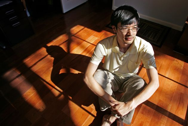 the Tao of Tao: UCLA Mathematician Terence (cq) Tao in his home Monday in Los Angeles September 18, 2006....