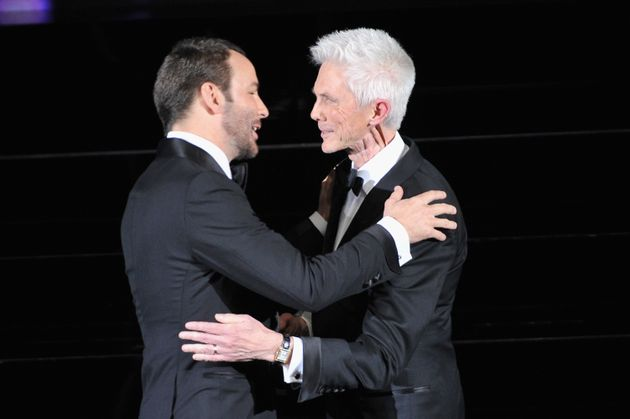 Tom and Richard at the CFDA Fashion Awards in