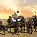 Έλληνες στρατιώτες στην έρημο: Εικόνες από την άσκηση «Bright Star 21» στην