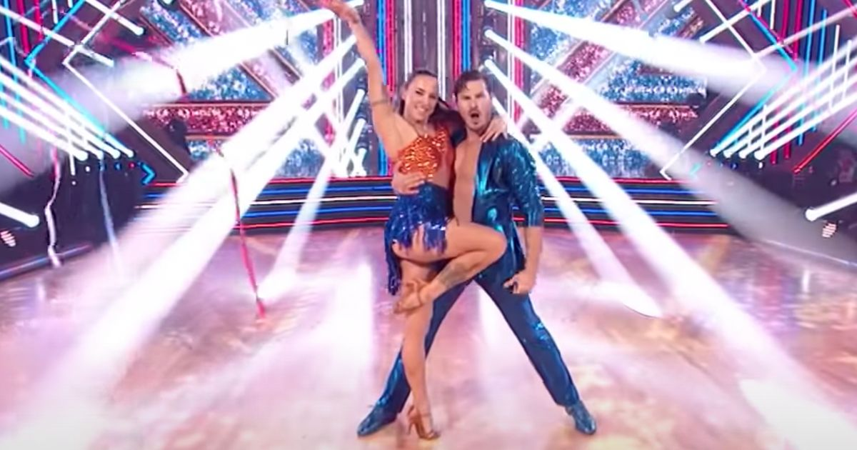 Mel C's Dance Floor Debut On The US Version Of Strictly Is A Spicy Treat