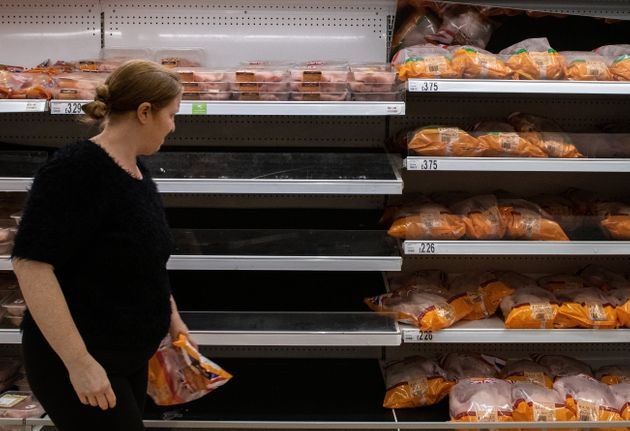 Empty supermarket shelves are expected in 10 days'