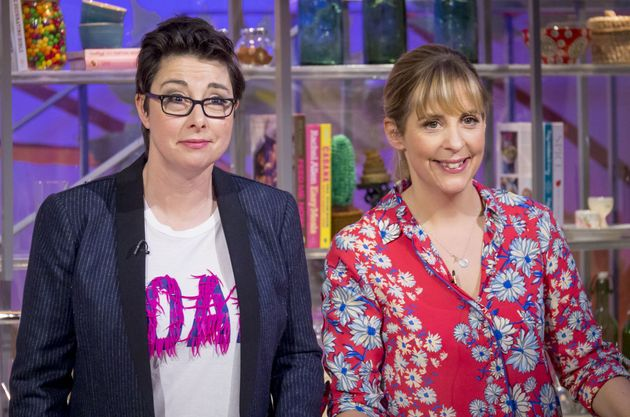 Mel and Sue on their short-lived ITV daytime show in