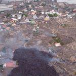 La lava se aproxima a Todoque, el último núcleo antes de su llegada al