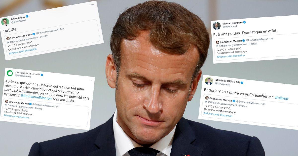 Ce tweet de Macron sur le péril climatique se retourne contre lui