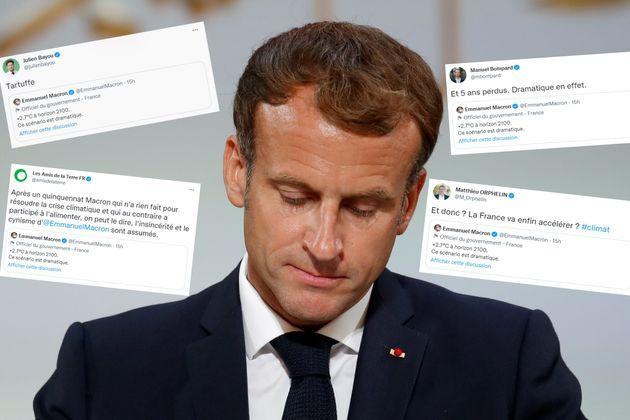 Emmanuel Macron photographié le 20 septembre à l'Élysée