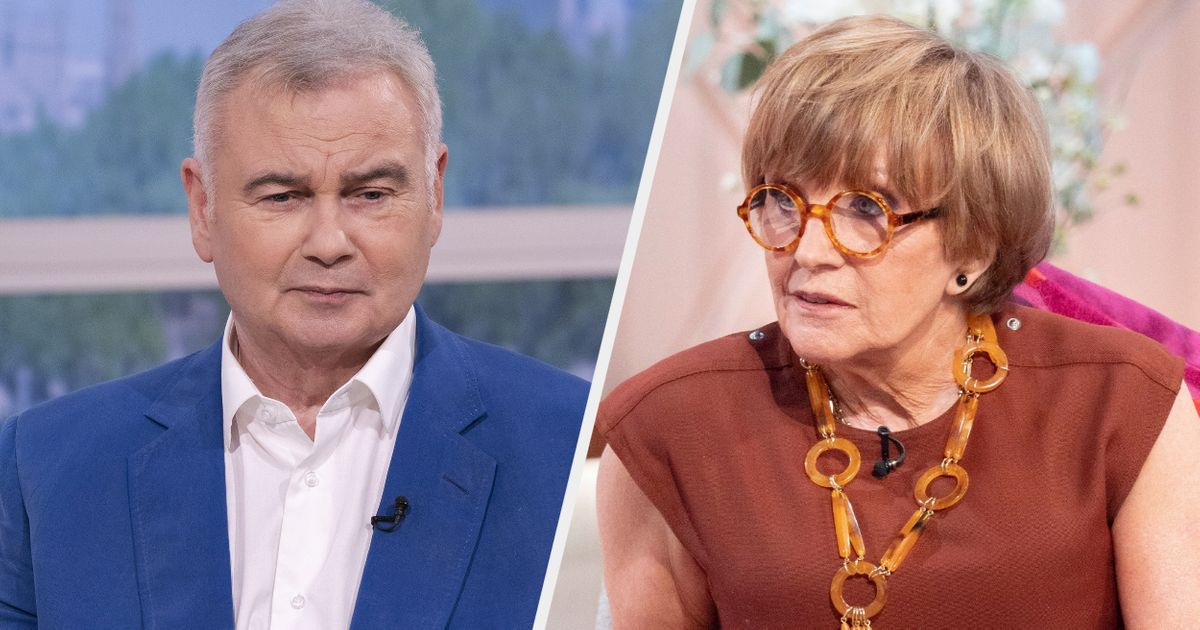Eamonn Holmes Admits Telling Anne Robinson He'd 'Knock Her Head Off' If She Were A Man After Parenting Jibe