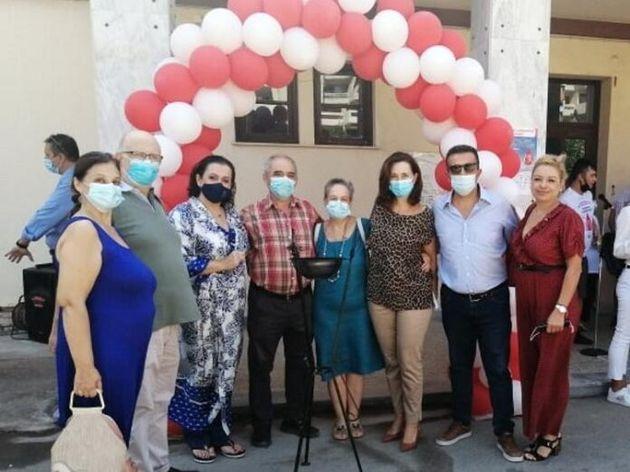 Η Περιφέρεια Αττικής στην τελετή Αφής της «Φλόγας της Αγάπης» στο Σικιαρίδειο