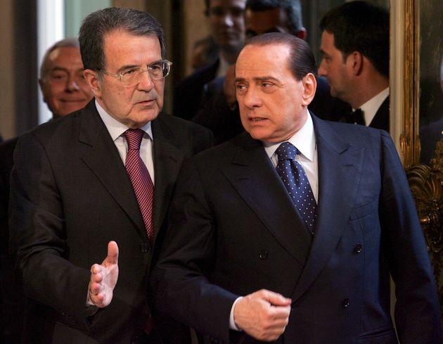 Gli highlanders Berlusconi e Prodi e la precoce vecchiaia dei