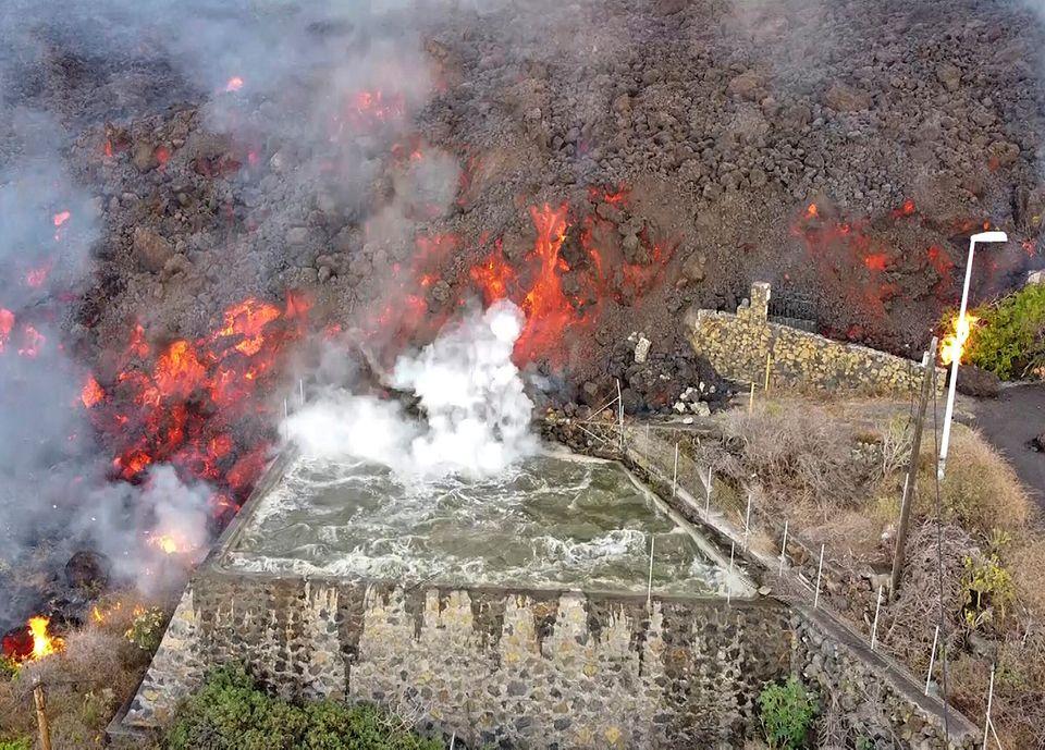 Η απειλή των σεισμών και του ηφαιστείου στο ισπανικό νησί Λα