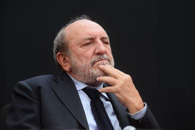 MODENA, ITALY - SEPTEMBER 15: Italian philosopher and author Umberto Galimberti attends the Filosofia...