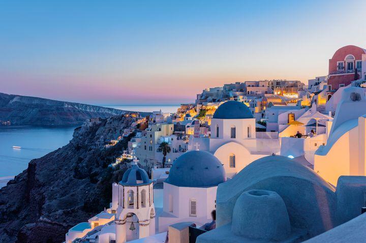 Σαντορίνη, Ελλάδα (νούμερο 11 στη λίστα)