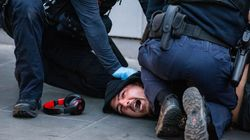 Chaotic Videos Show Anti-Vaccine Protesters In Violent Clash With