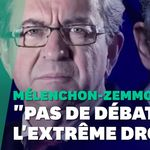 Le débat entre Jean-Luc Mélenchon et Éric Zemmour crispe la