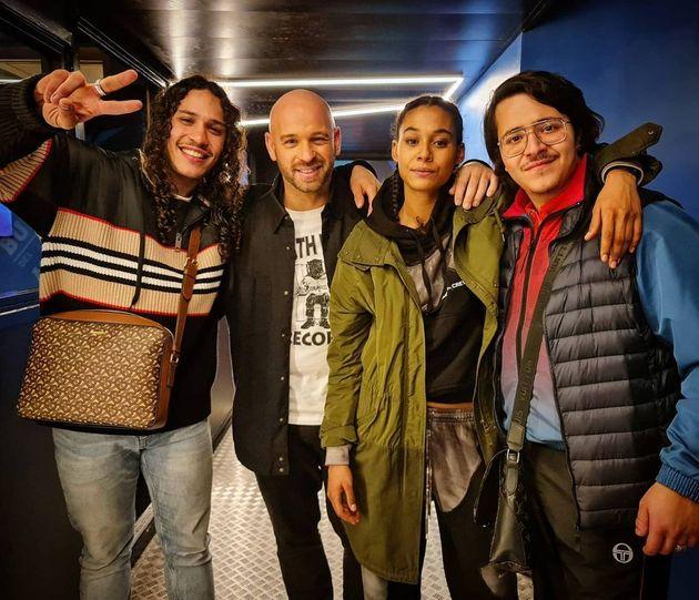 Hatik venu rendre visite à Leatitia Kerfa et au casting de la saison 2 de