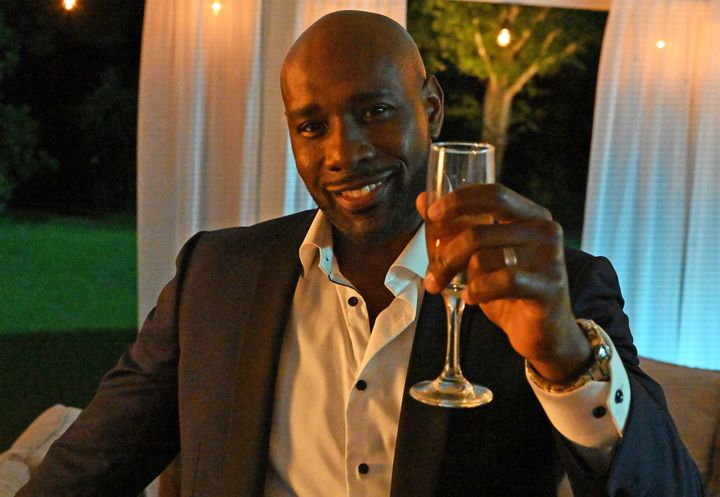 """Morris Chestnut in """"Our Kind of People."""""""
