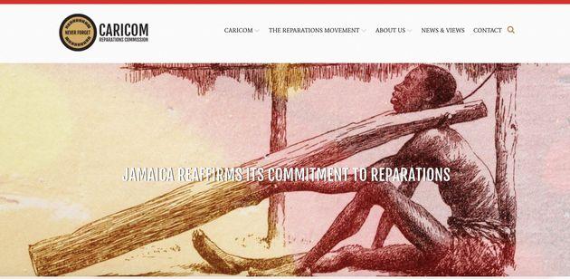カリブ海地域の経済統合、外交政策の調整などを目的とする「カリブ共同体」のサイト