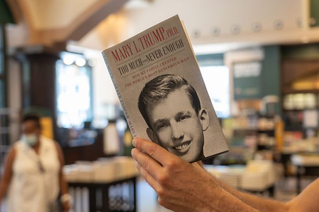メアリー・トランプ氏が執筆した、トランプ前大統領の回顧録