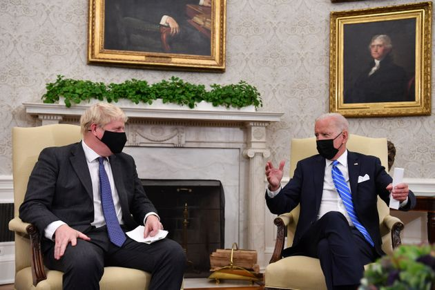 Johnson Cut Off By White House Staff Mid-Sentence During Biden Meeting