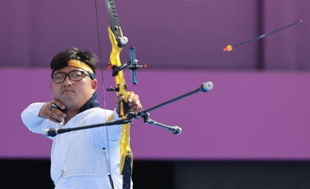 2020 도쿄올림픽 양궁 남자 단체전 금메달리스트 김우진
