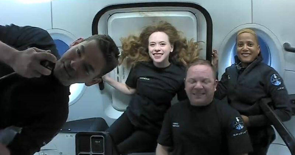 Les touristes de SpaceX ont passé 3 jours dans l'espace... avec des toilettes bouchées
