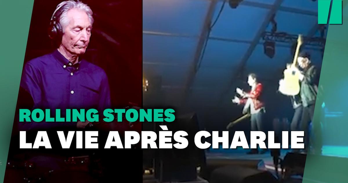 Les Rolling Stones ont rendu hommage à Charlie Watts lors de leur premier show depuis son décès
