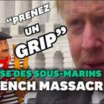 En franglais, Johnson appelle la France à se