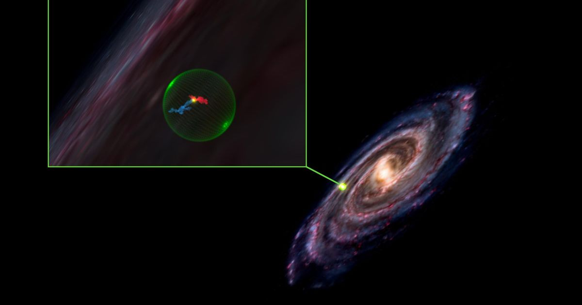 Des astronomes ont découvert une cavité géante dans la Voie lactée