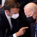 Sous-marins: après leur coup de fil, Macron et Biden affichent leur volonté