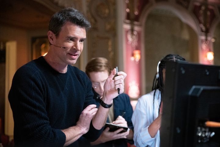 """Scott Foley as Nick, the executive producer of a reality dance competition show on """"The Big Leap."""""""