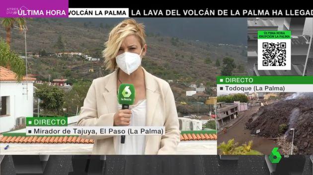 La presentadora Cristina Pardo, desde La