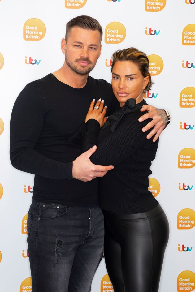 Carl Woods and Katie Price