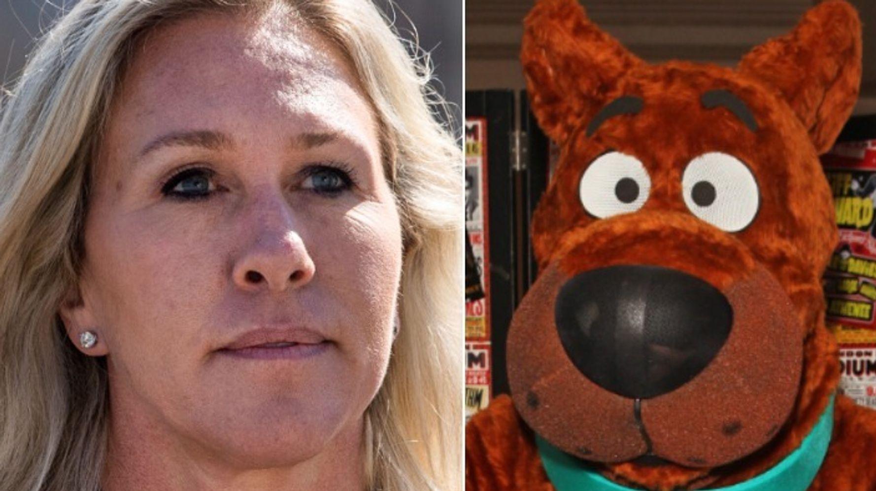 Ruh-Roh! Rep. Marjorie Taylor Greene's 'Scooby-Doo' Stunt Did Not Go Well