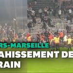 Des incidents entre supporters sur la pelouse après le match