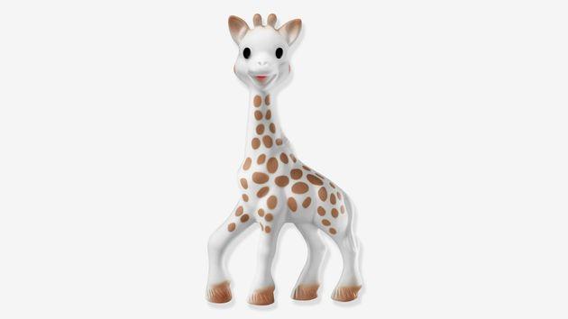 Sophie La Girafe prend de la hauteur au musée