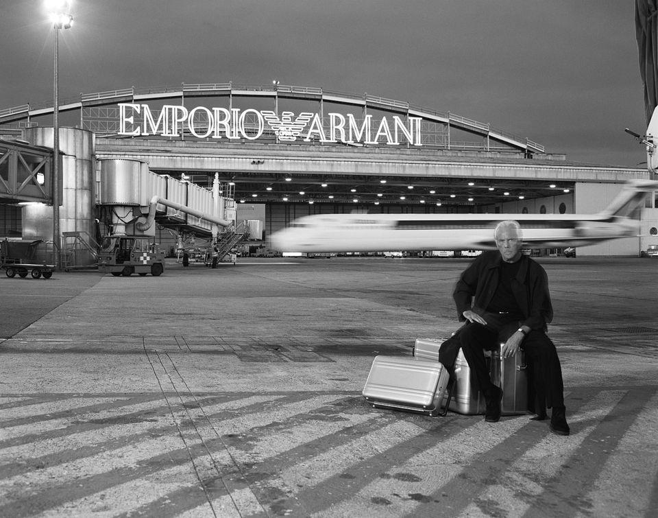 Emporio Armani, uno splendido