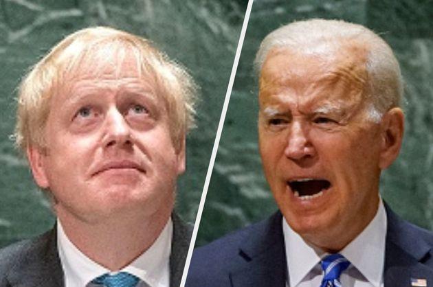 Boris Johnson and Joe