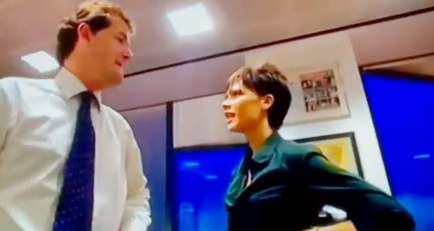 Piers Morgan and Victoria Beckham in the unearthed