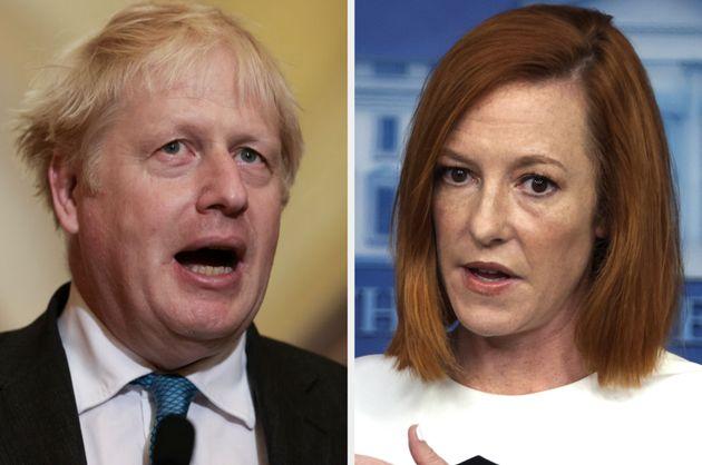 Boris Johnson and Jen