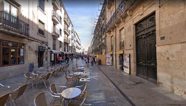 Una calle del centro de
