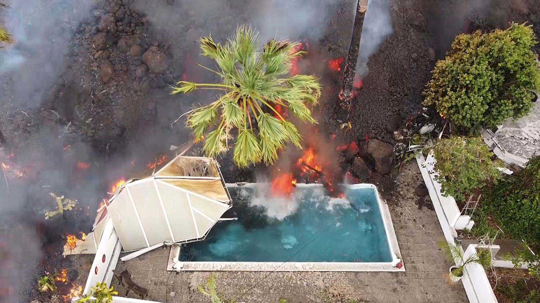 Lava From Spanish Volcano Slows Down, Sparking Fears Of Further Devastation