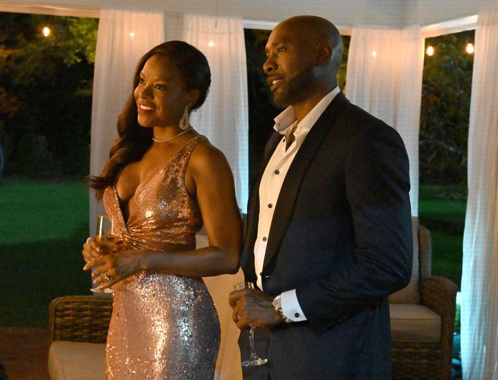 """Nadine Ellis and Morris Chestnut in FOX's new drama """"Our Kind of People."""""""
