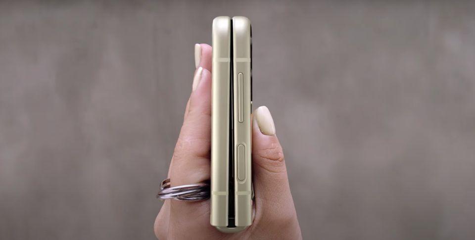 El nuevo Samsung Galaxy Z Flip3