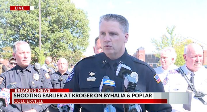 Chief Dale Lane updated reporters on the situation Thursday.