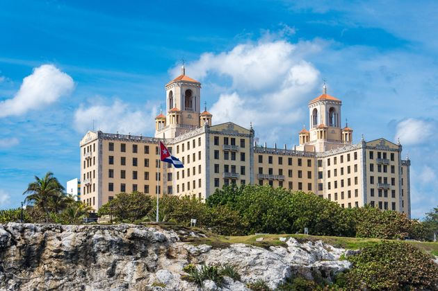 To ξενοδοχείο Nacional στην Αβάνα είναι ένα από τα σημεία στα οποία σημειώθηκαν τα κρούσματα