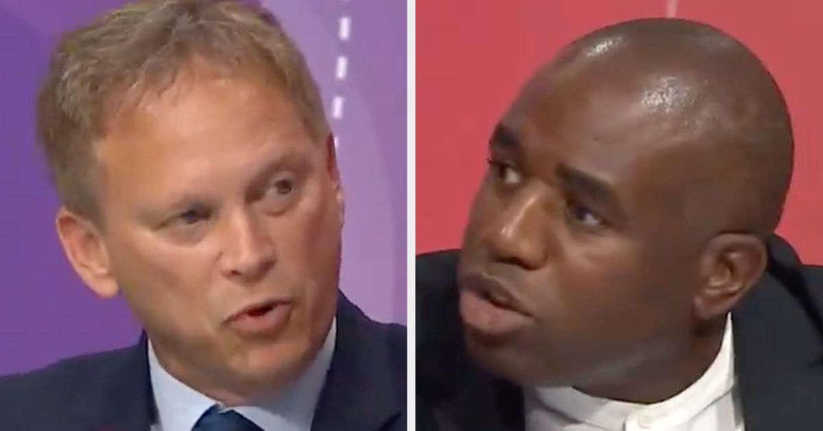 David Lammy Calls Out Grant Shapps Over 'Nasty And Unnecessary' Cuts