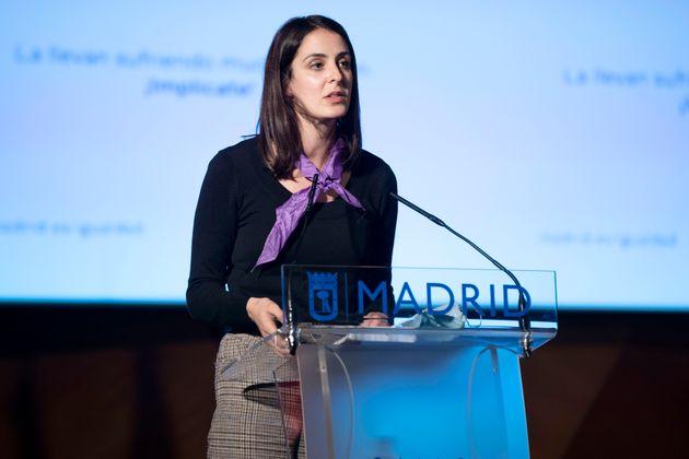 La portavoz de Más Madrid en el Ayuntamiento, Rita