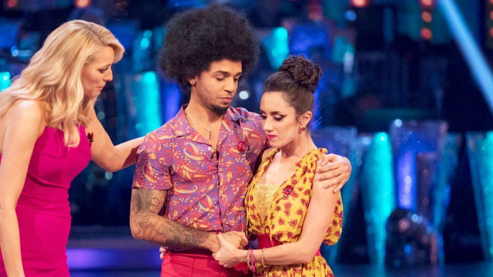Aston Merrygold and Janette Manrara made a shock exit from the show in