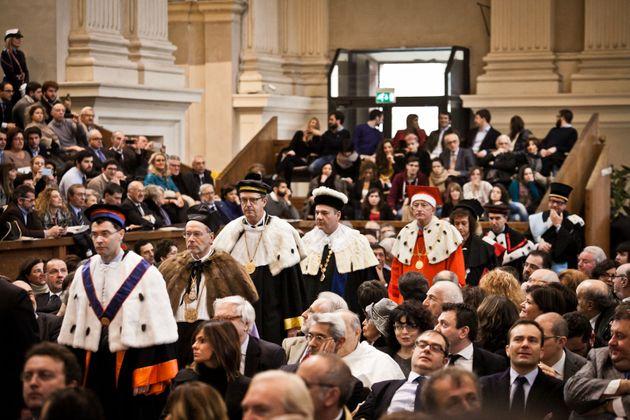 10/01/2015 Bologna, Inaugurazione Anno Accademico Universita' degli studi di